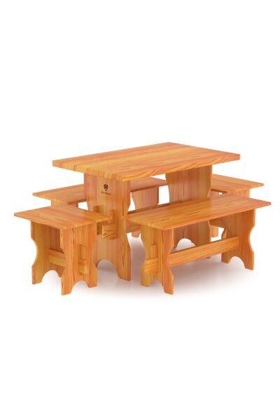 Комплект мебели (стол, скамейки) - 6 чел.