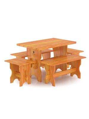Комплект мебели (стол, скамейки) - 4 чел.