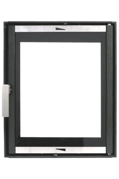 Каминная дверца со стеклом HTT 626
