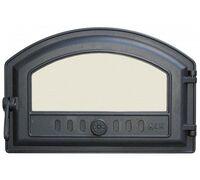 Дверца топочная герметичная со стеклом (410х180/250) 324 - LK