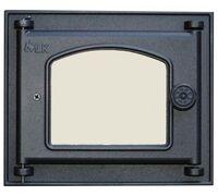 Дверца топочная со стеклом (250х210) 351 - LK