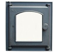 Дверца топочная со стеклом (250х280) 361 - LK
