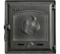 Дверца топочная герметичная глухая (250х280) 371 - LK