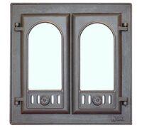 Дверца каминная 301 410х410 - LK