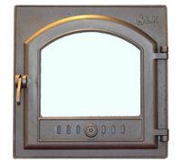 Дверца топочная со стеклом (410х410) 305 - LK