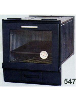 Духовка застекленная литая с сажной дверцей 547 - SVT