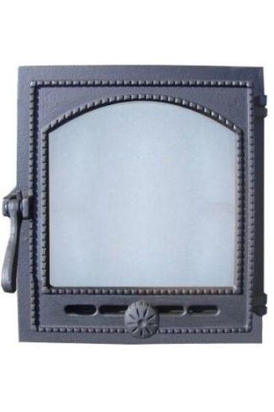 Дверка ДТГ-8АС (Р) топочная герметичная 'Онего' крашенная 290х325 (без стекла)