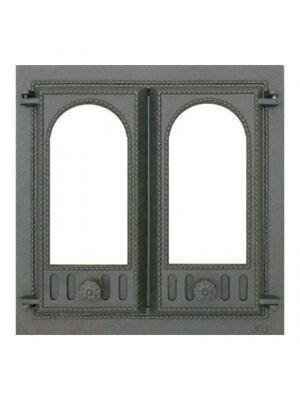 Каминная дверца 401 со стеклом SVT