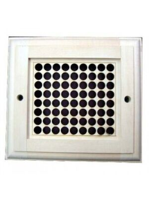 Вентиляционная решетка каминная крашеная РВ-1(Р)