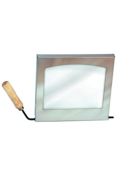 Дверца со стеклом к печи Вулкан
