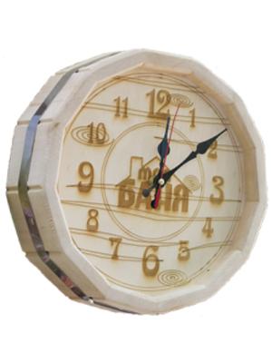 """Часы """"Бочонок"""" (светлые) (ЧБ-С) - LK"""