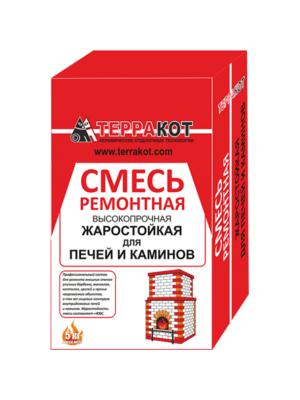 Смесь ремонтная Терракот жаростойкая (3 кг.)