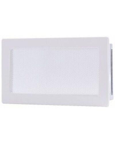 Вентиляционная решетка белая 17х30 мм
