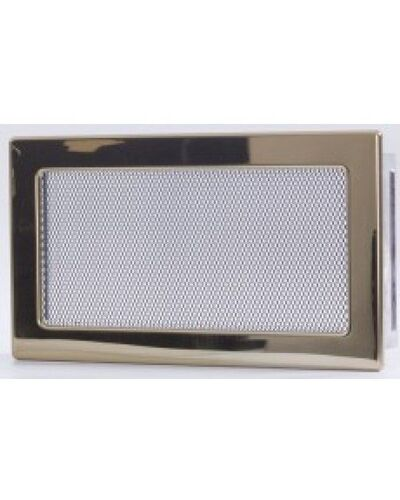 Вентиляционная решетка золото 17х30 мм