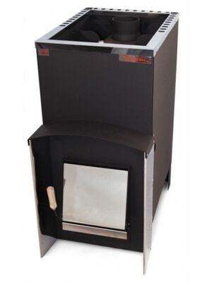 Печь для бани Вулкан Эльбрус 20 Стандарт c теплообменником