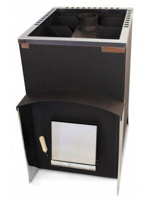 Печь для бани Вулкан Эльбрус 26 Стандарт c теплообменником