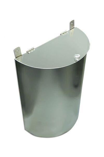 Выносной бак для бани - 60 л (полукруглый) - AISI 430