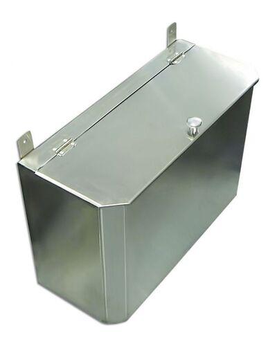 Выносной горизонтальный бак для бани - 65 л - AISI 430