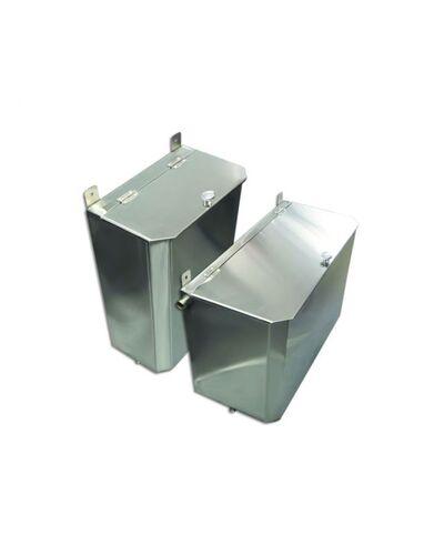 Выносной горизонтальный бак для бани - 85 л - AISI 430