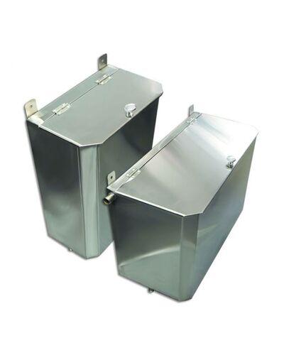Выносной бак для бани вертикальный - 95 л - AISI 430