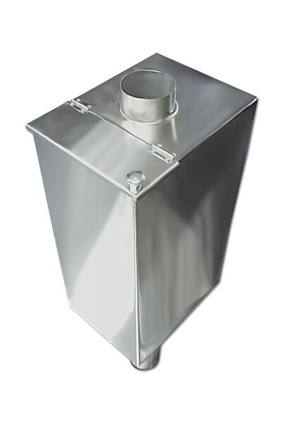Бак для бани самоварного типа - 85 л - 120мм - AISI 430