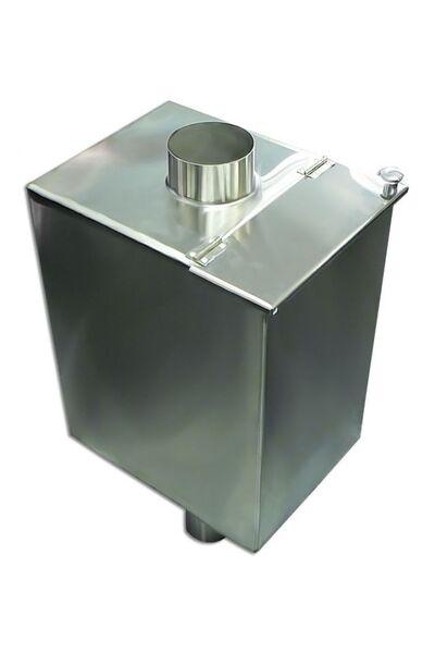 Бак для бани самоварного типа - 60 л - 120мм - AISI 304