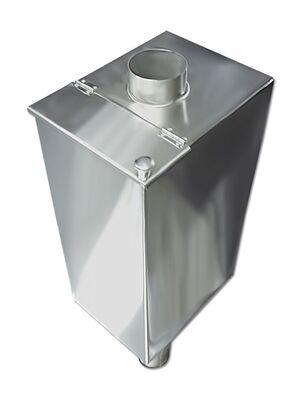 Бак для бани на трубе - 85 л - 110мм - AISI 304 - СМ