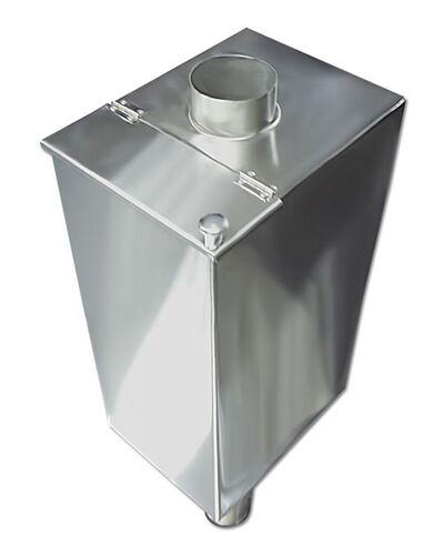 Бак для бани самоварного типа - 85 л - 115мм - AISI 304