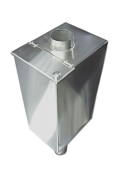 Бак для бани самоварного типа - 85 л - 120мм - AISI 304