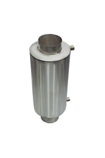 Теплообменник для бани на трубе - 110 -  AISI 430 - 550мм