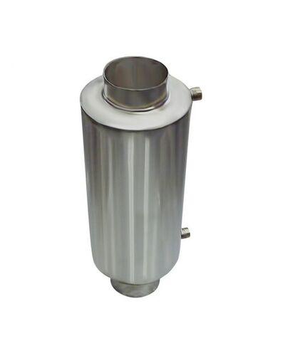 Теплообменник для бани на трубе - 120 -  AISI 430 - 550мм