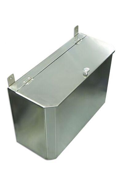 Выносной горизонтальный бак для бани - 65 л - AISI 304