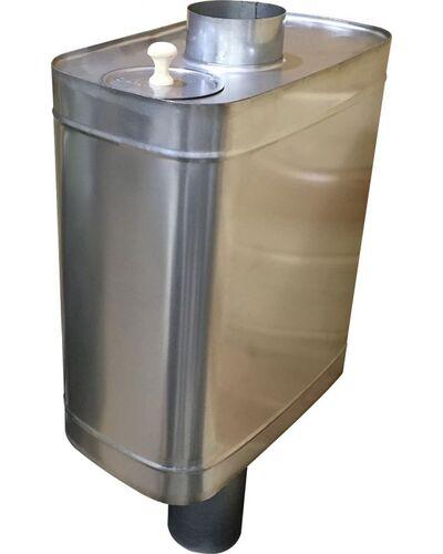 Бак для бани самоварного типа - 50л - AISI 439