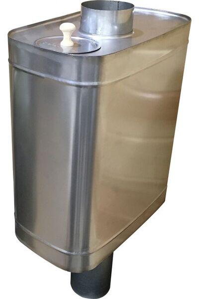 Бак для бани самоварного типа - 70л - AISI 439
