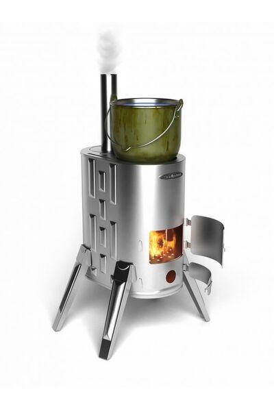 Отопительная печь Термофор ДУПЛЕТ - 1 INOX