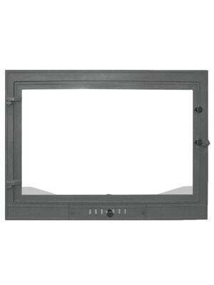 Чугунная каминная дверца Промо 700 -  Мета
