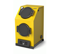 Твердотопливный котел T-M-F Прагматик Автоматик, 20кВт, АРТ под ТЭН, желтый