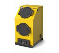 Твердотопливный котел Термофор Прагматик Электро, 20 кВт, АРТ, ТЭН 9кВт, желтый