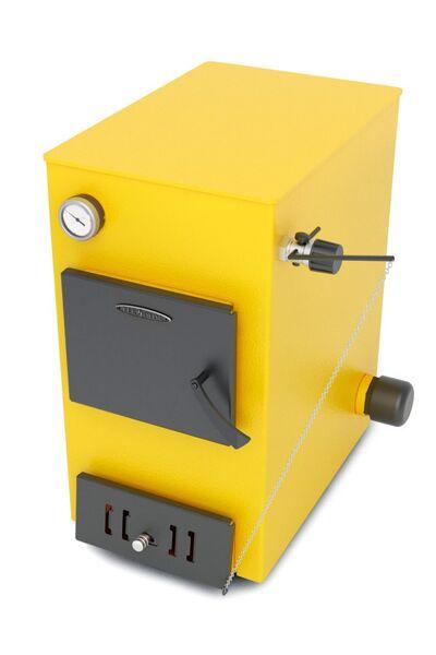 Отопительный котел Ташкент автоматик, 12 кВт, АРТ под ТЭН, желтый