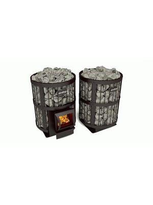 Печь для бани Grill'D Leo 240 (Short black)