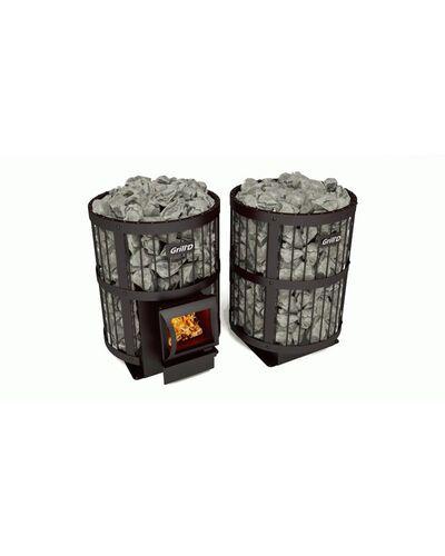 Печь для бани Leo 240 (Short black) Grill'd