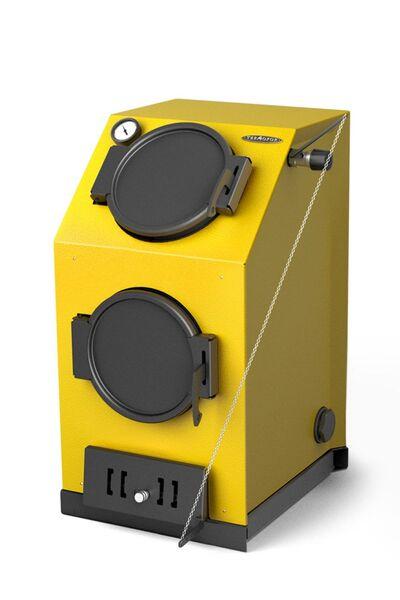 Отопительный котел Прагматик Электро, 30 кВт, АРТ, ТЭН 12 кВт, желтый