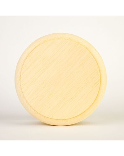 Вентиляционная поворотная заглушка Sauna Wood (древесина Абачи)