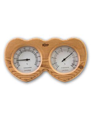 Термогигрометр F-205 ОЧКИ кедр сердце - 212F
