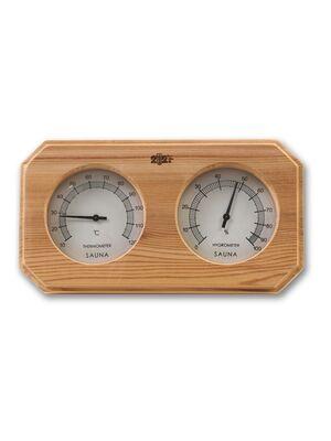 Термогигрометр F-207 ОЧКИ кедр квадрат - 212F