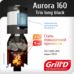 Печь для бани Grill'D Aurora 160 Trio long black
