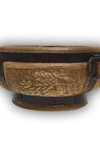 Керамический очаг для костра (малый Колос)