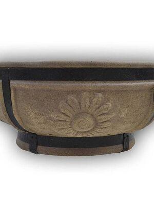 Керамический очаг для костра (большой Подсолнух)