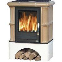 Керамическая печь-камин BAVARIA K, с теплообменником - ABX