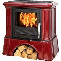 Керамическая печь-камин IKARIA K, с кафельным цоколем - ABX